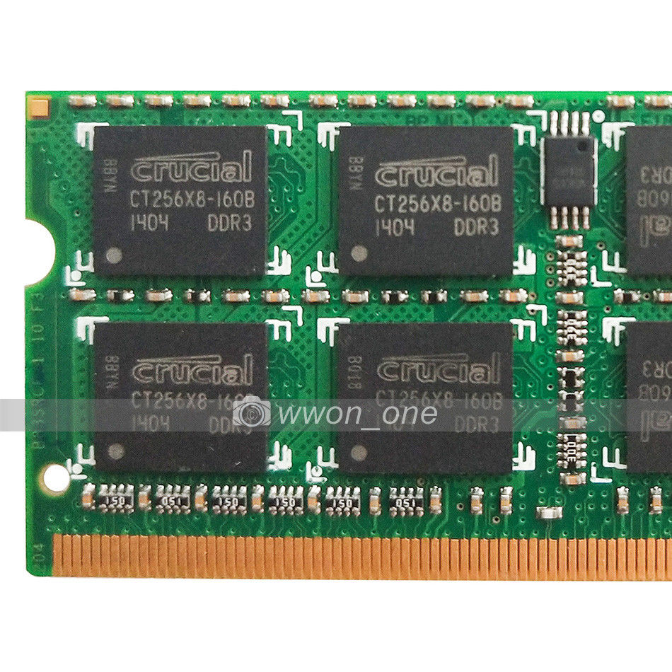 Crucial 4gb 8gb Ddr3 Ram Pc3 10600 1333mhz 20 In Computers Sodim 204pin Sodimm Laptop Memory