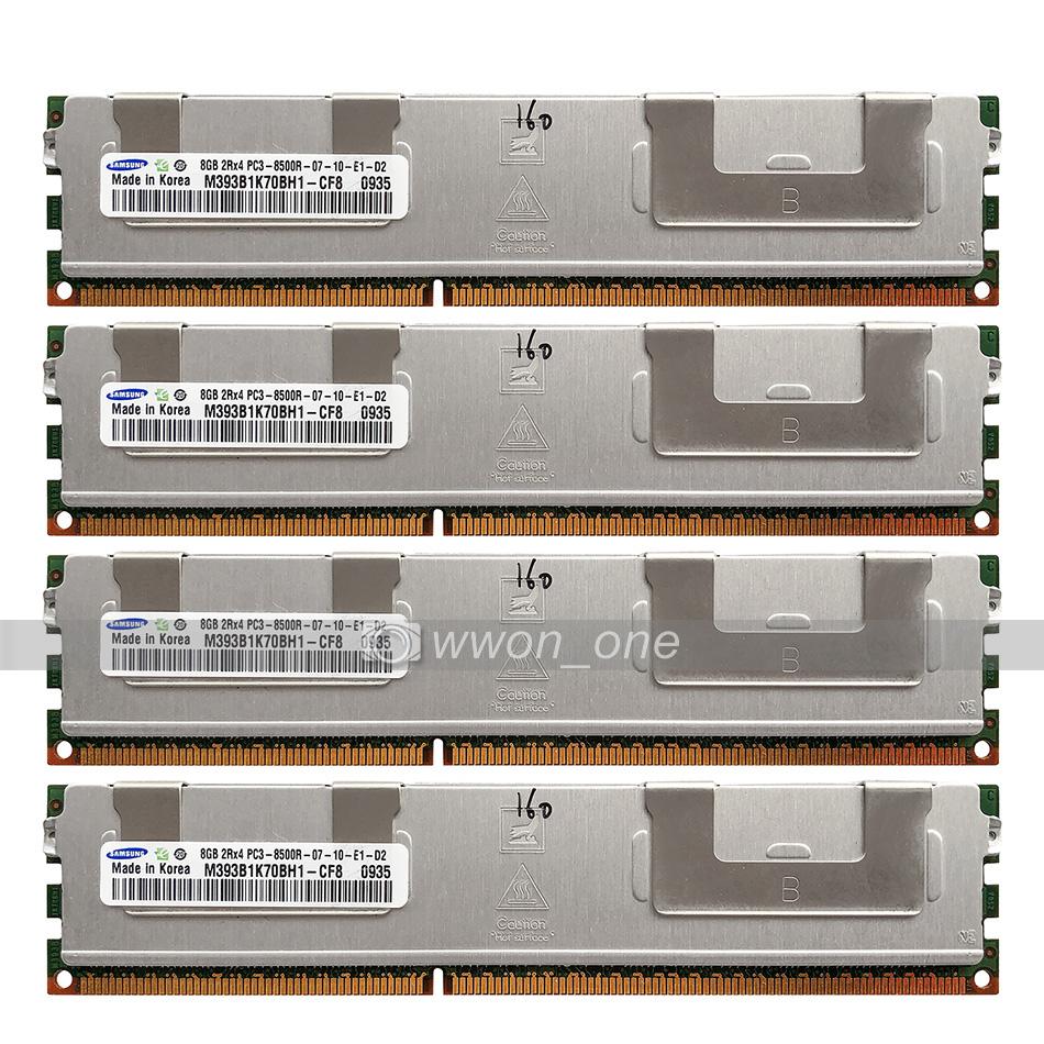 MEMORY FOR DELL POWEREDGE  M910 R810 R910 32GB 4X8GB