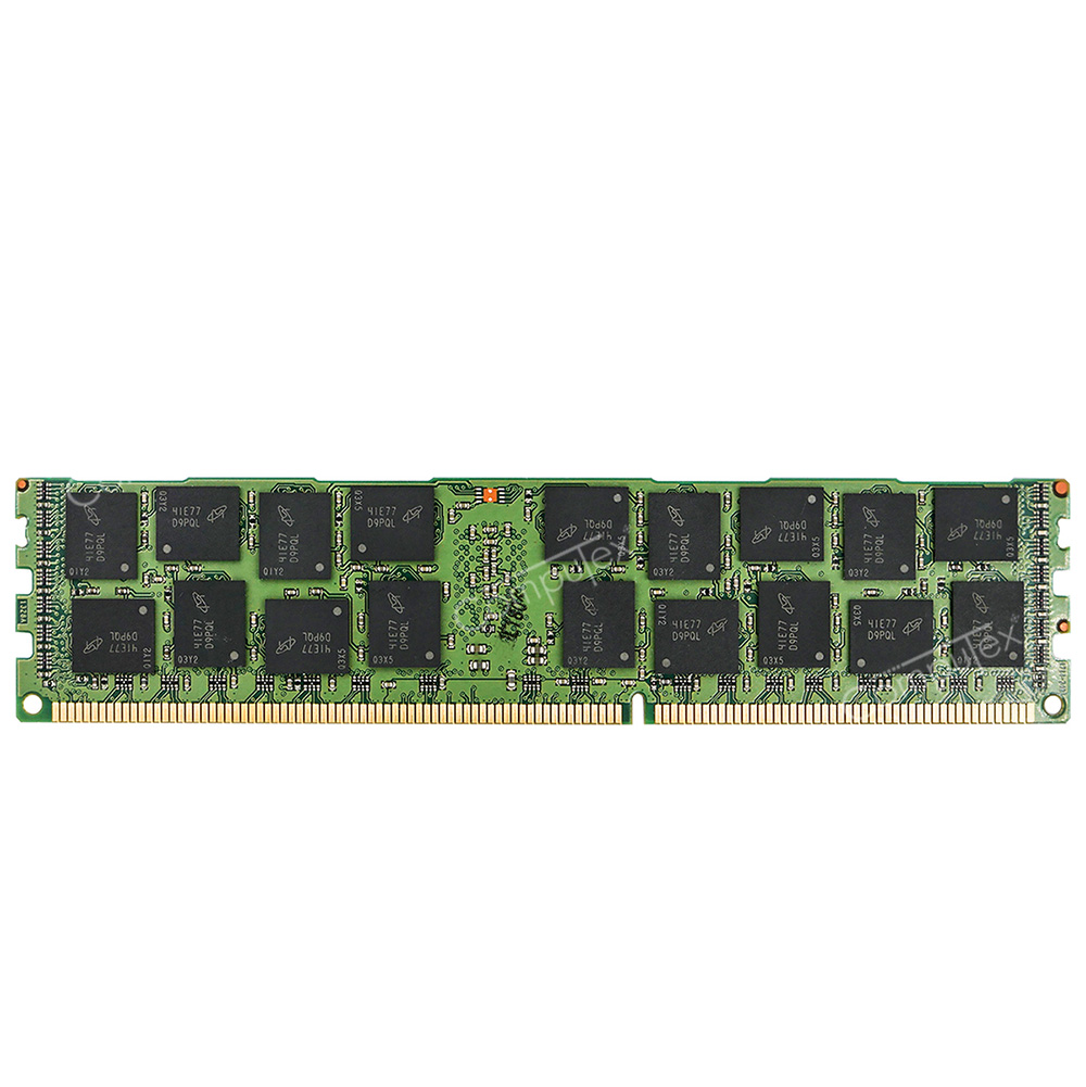 Micron 16GB 2Rx4 PC3L-12800R DDR3 1600Mhz ECC Registered Server Memory REG RAM