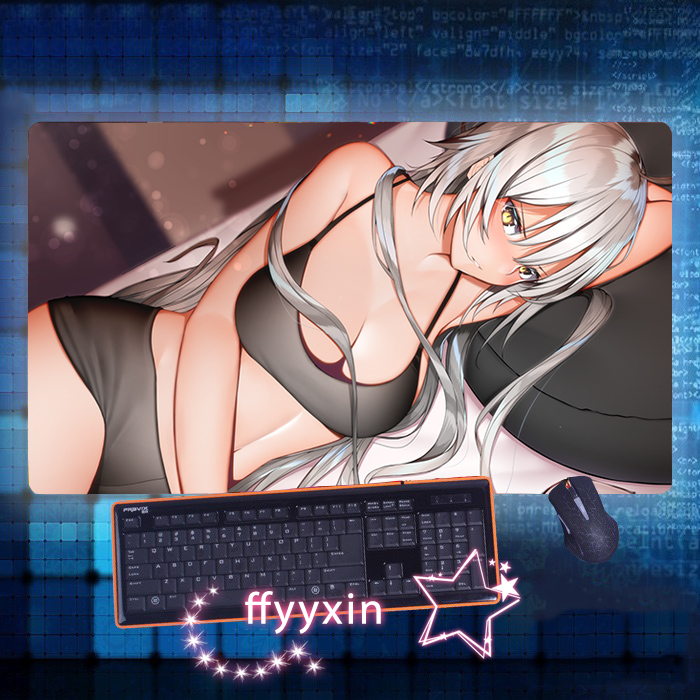 Anime Fate Grand Order Jeanne d/'Arc Mouse Pad Mice Play Mat Laptop Keyboard Pad