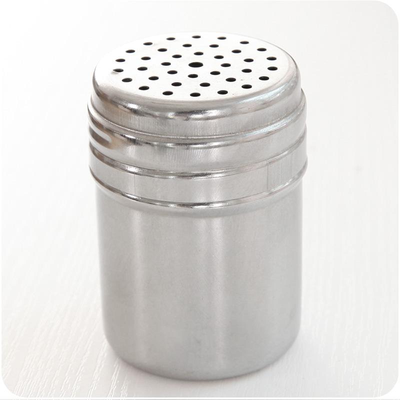 Camping Dispenser Box Salt /& Pepper Set Holder Shaker Spices Seasoning