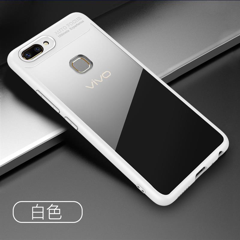 For VIVO Y53/Y51/Y55/X20 Luxury Shockproof Mirror Ultra Thin Soft TPU Case Cover