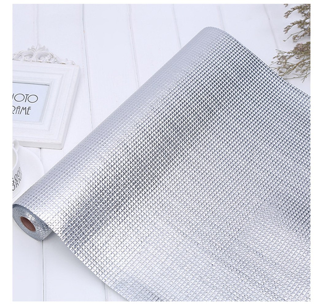 Shelf Liner For Kitchen Cabinets: Stainless Steel Metal Non Adhesive Mat Shelf Drawer Liner