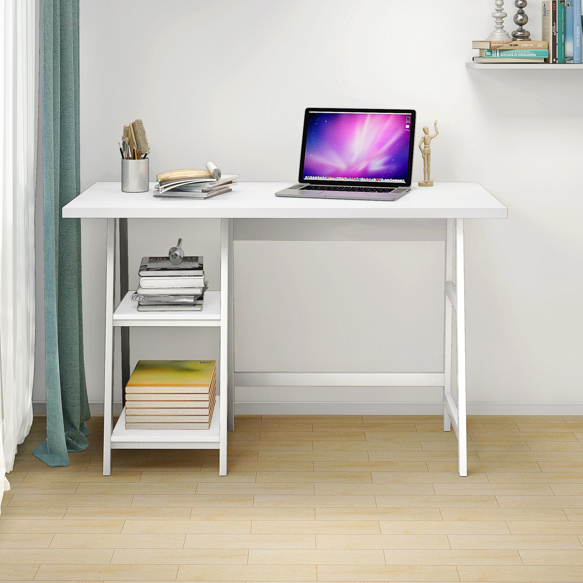 Fine Home Office Computer Desk With Printer And Paper Storage Download Free Architecture Designs Ferenbritishbridgeorg