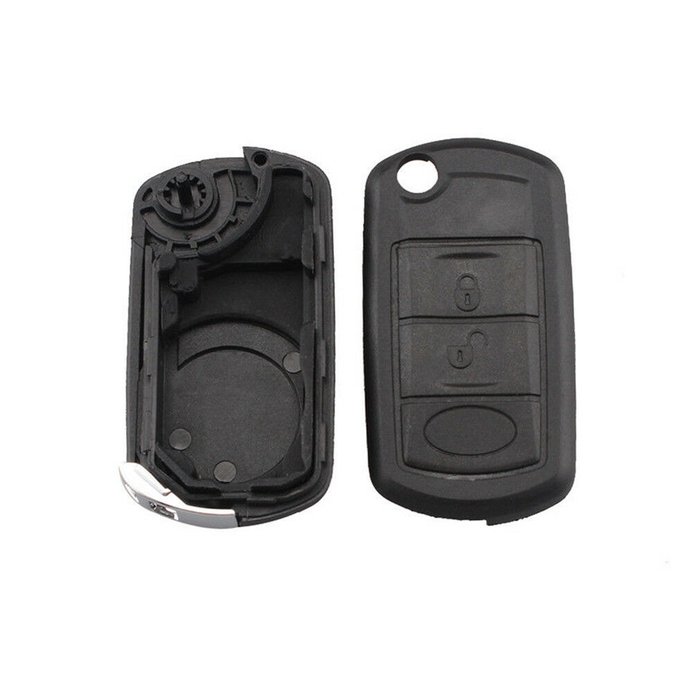 3 Buttons Btn Remote Key Fob Case For Range Rover Lr3 2005
