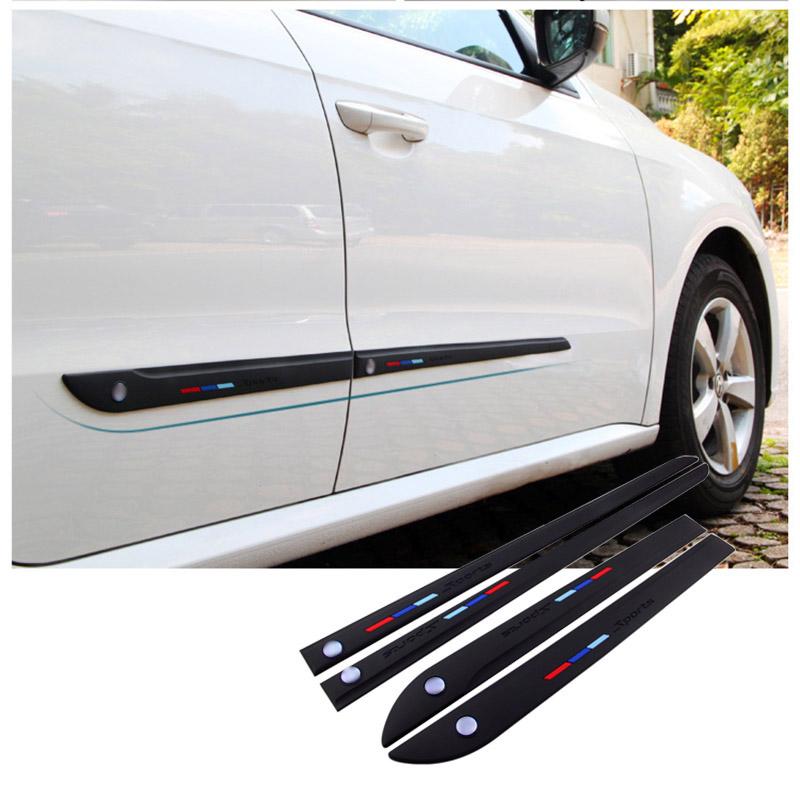 color negro compatible con todos los coches 4 protectores de puerta de coche