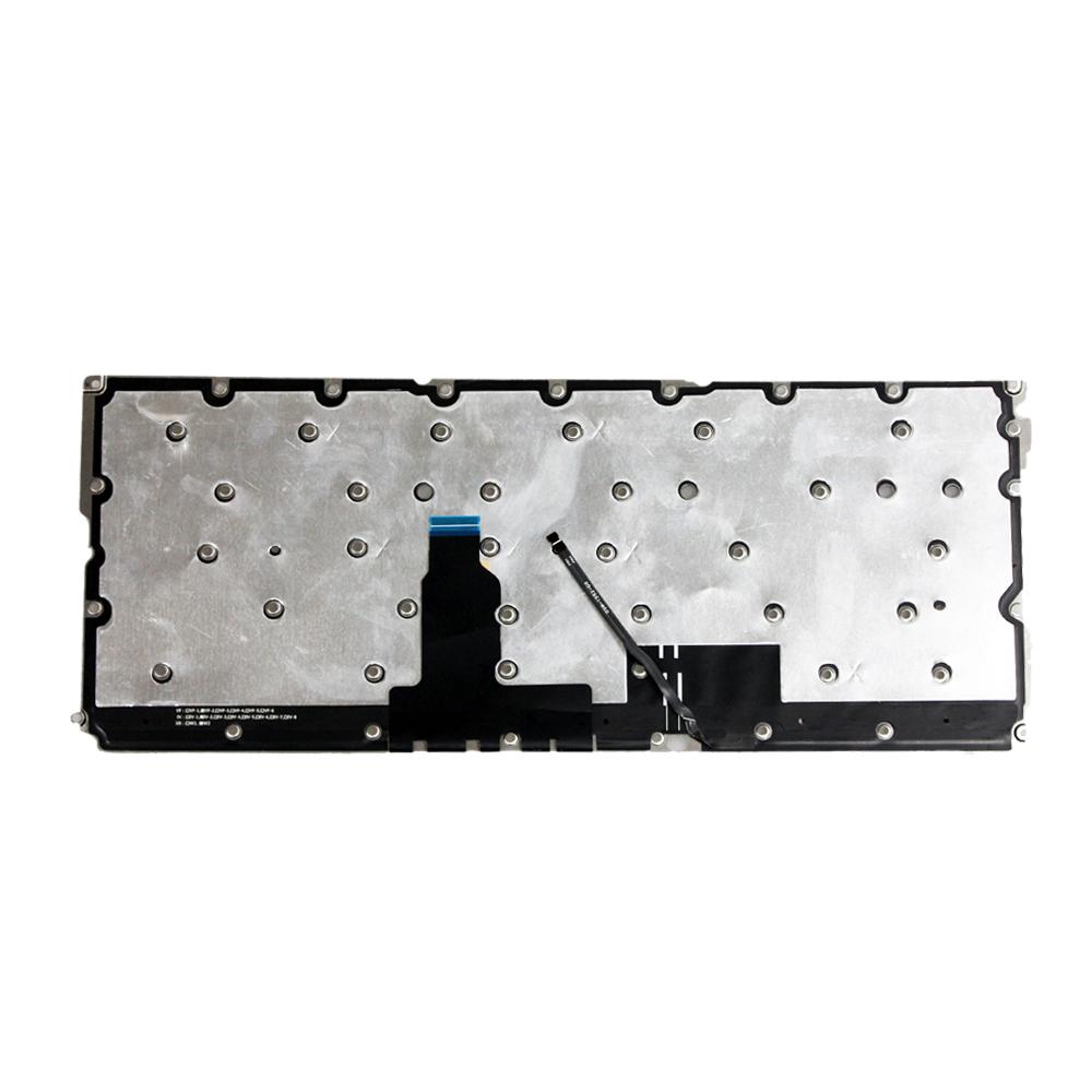 Original New for Lenovo Yoga 900S-12ISK Yoga 900S US Silver Keyboard Backlit