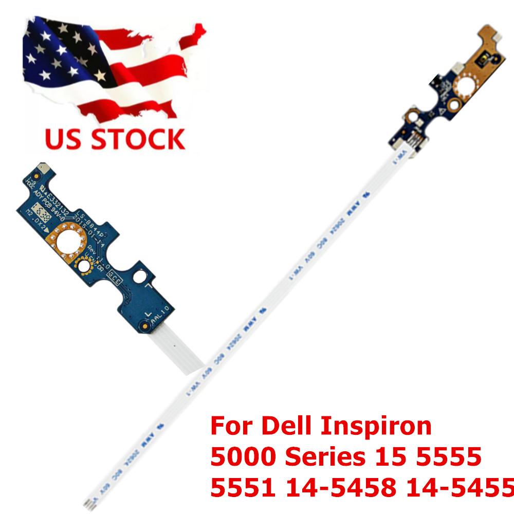 """Dell Inspiron 5000 Series 15 15.6/"""" 5555 5551 14-5458 14-5455 Power Button Board"""