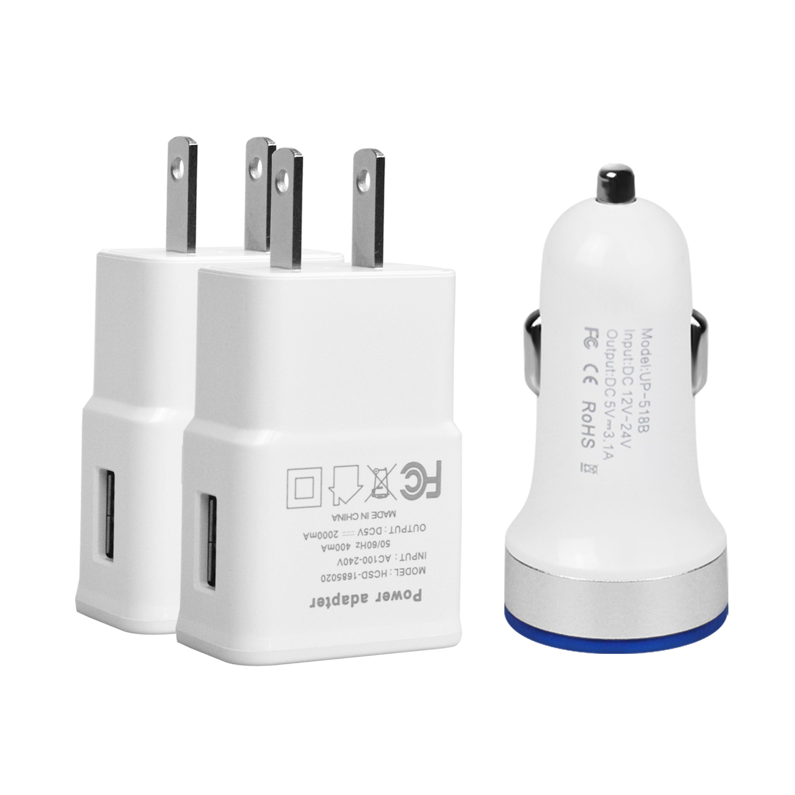 low priced 3a0a4 b66e7 Fast USB Car Wall Charger Power Adapter Charging for iPhone XR X 10 ...
