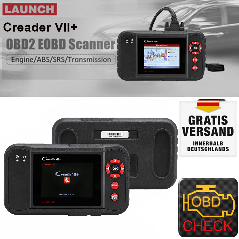 launch x431 vii 7 obd2 auto diagnoseger t kfz. Black Bedroom Furniture Sets. Home Design Ideas