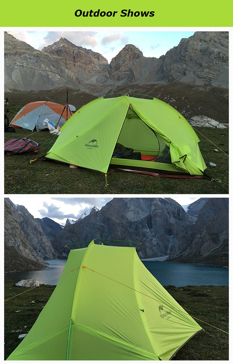 Color Dark blueGreen Tent fly material 20D Nylon plaid cloth. Tent fly waterproof index PU waterproof coating 4000mm. Inner tent ... & 1/2 Person Outdoor Camping Ultralight Waterproof Backpacking Tent ...