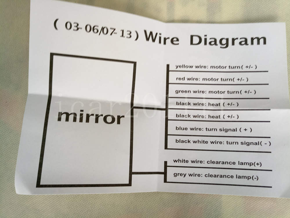 for 03 07 silverado sierra tahoe yukon suburban power heat led rh ebay com 12V LED Wiring Diagram LED Trailer Wiring Diagram