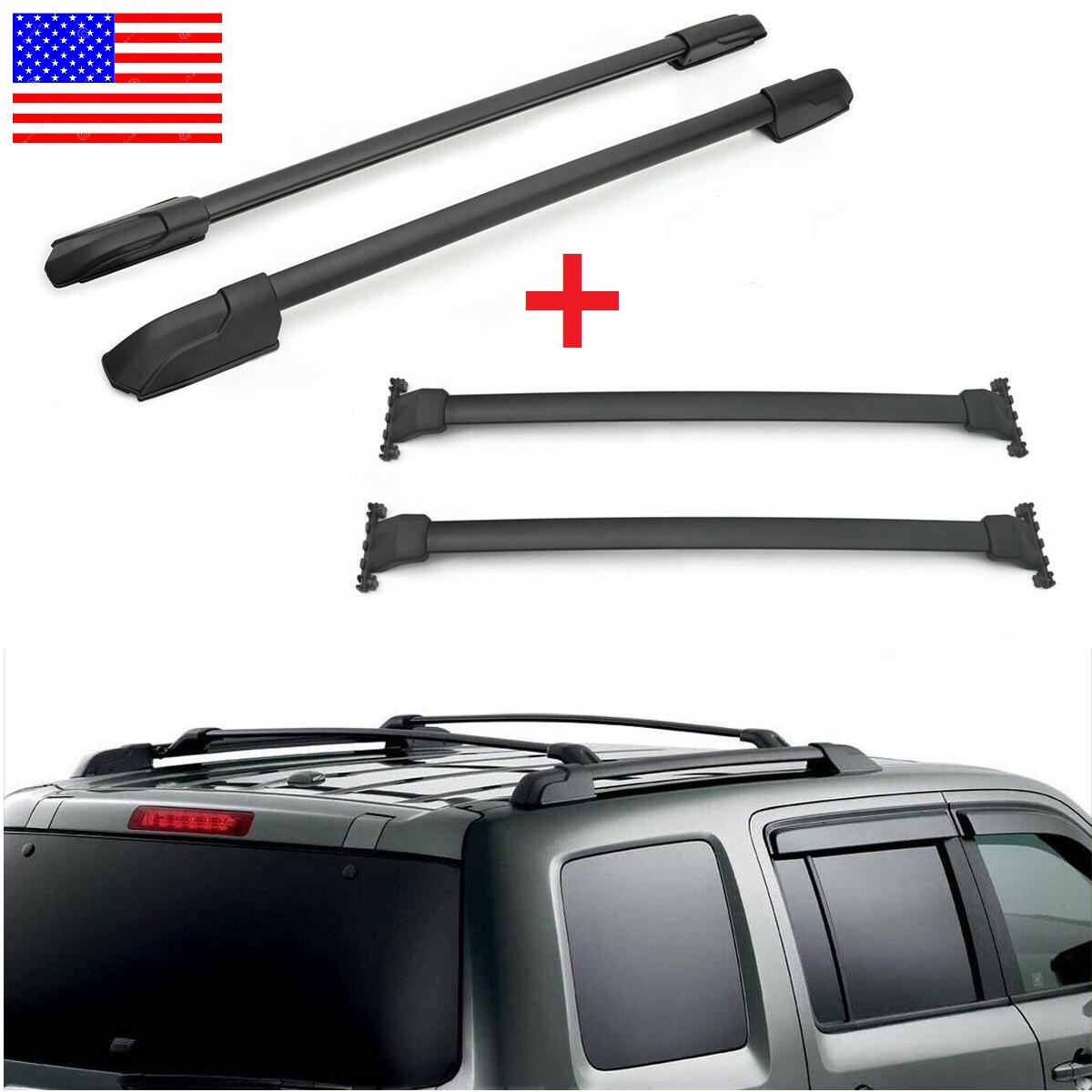 For 09 15 Honda Pilot Roof Racks Cross Bars Side Rails Set Cargo Luggage Us Ebay