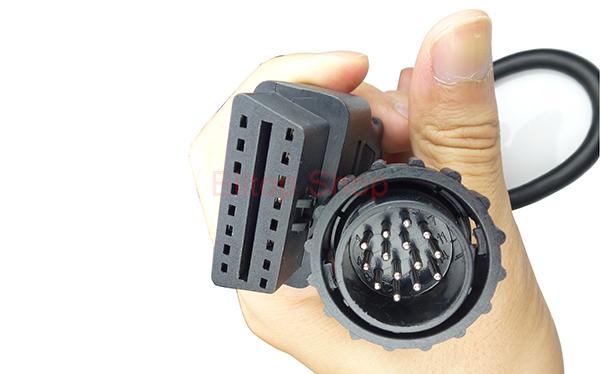 mercedes benz truck obd 14 pin to obd2 16 pin diagnostic. Black Bedroom Furniture Sets. Home Design Ideas
