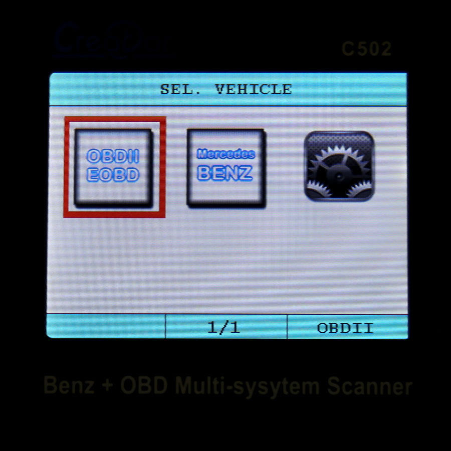 For MERCEDES BENZ Auto Diagnostic Scanner Code Reader fits SLK SLS SLR Class etc