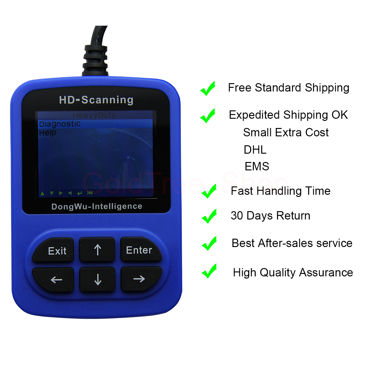 Details about J1939 J1708 Heavy Duty Diesel Truck Scanner Code Reader  Diagnostic Scan Tool