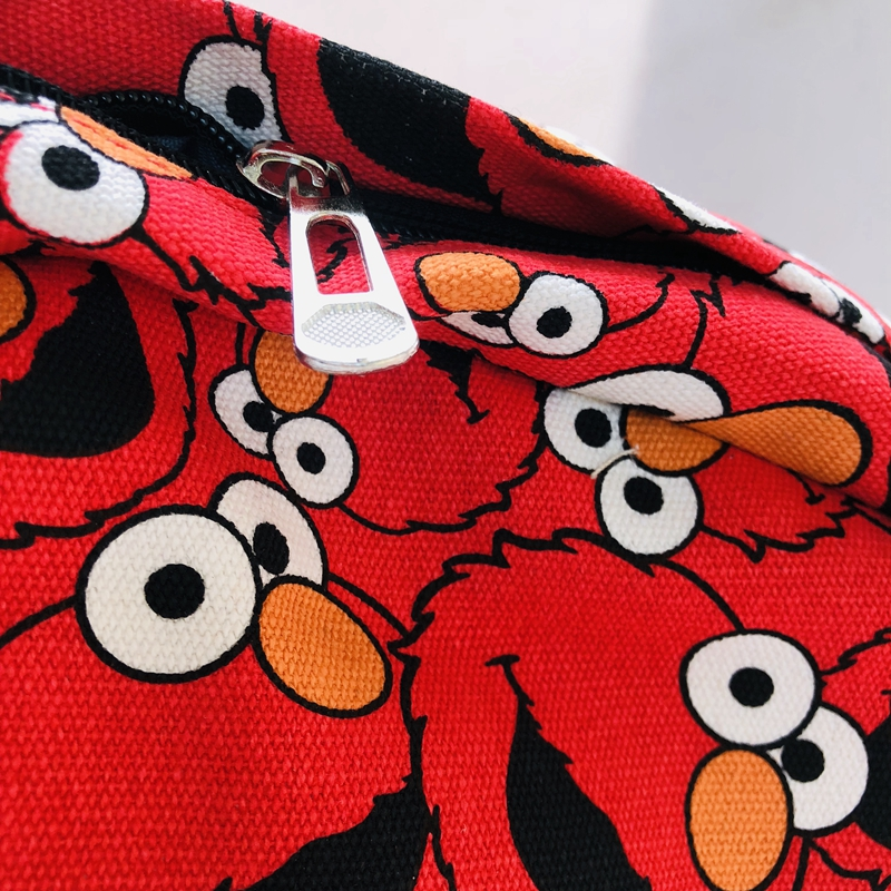 "Sesame street elmo 15/"" backpack shoulder bag cartoon school bags anime hot"