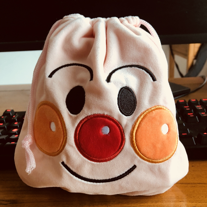 Anpanman cute handbag drawstring POUCH bag makeup bags Phone anime
