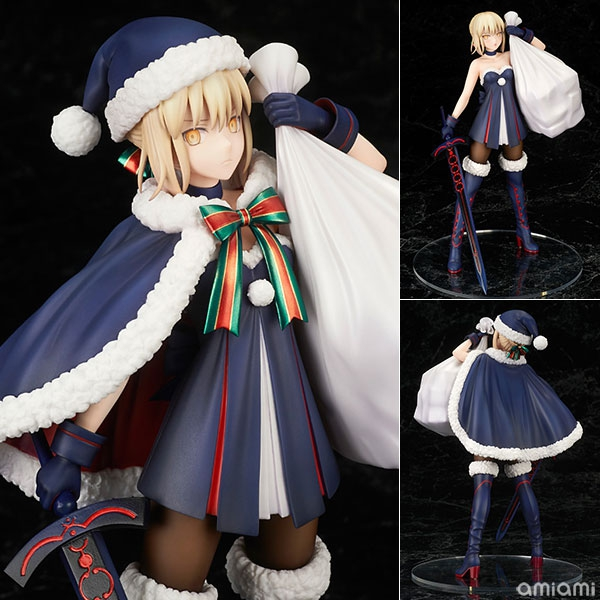 Fate saber christams dress PVC  figure statue doll toy dolls colleaction new