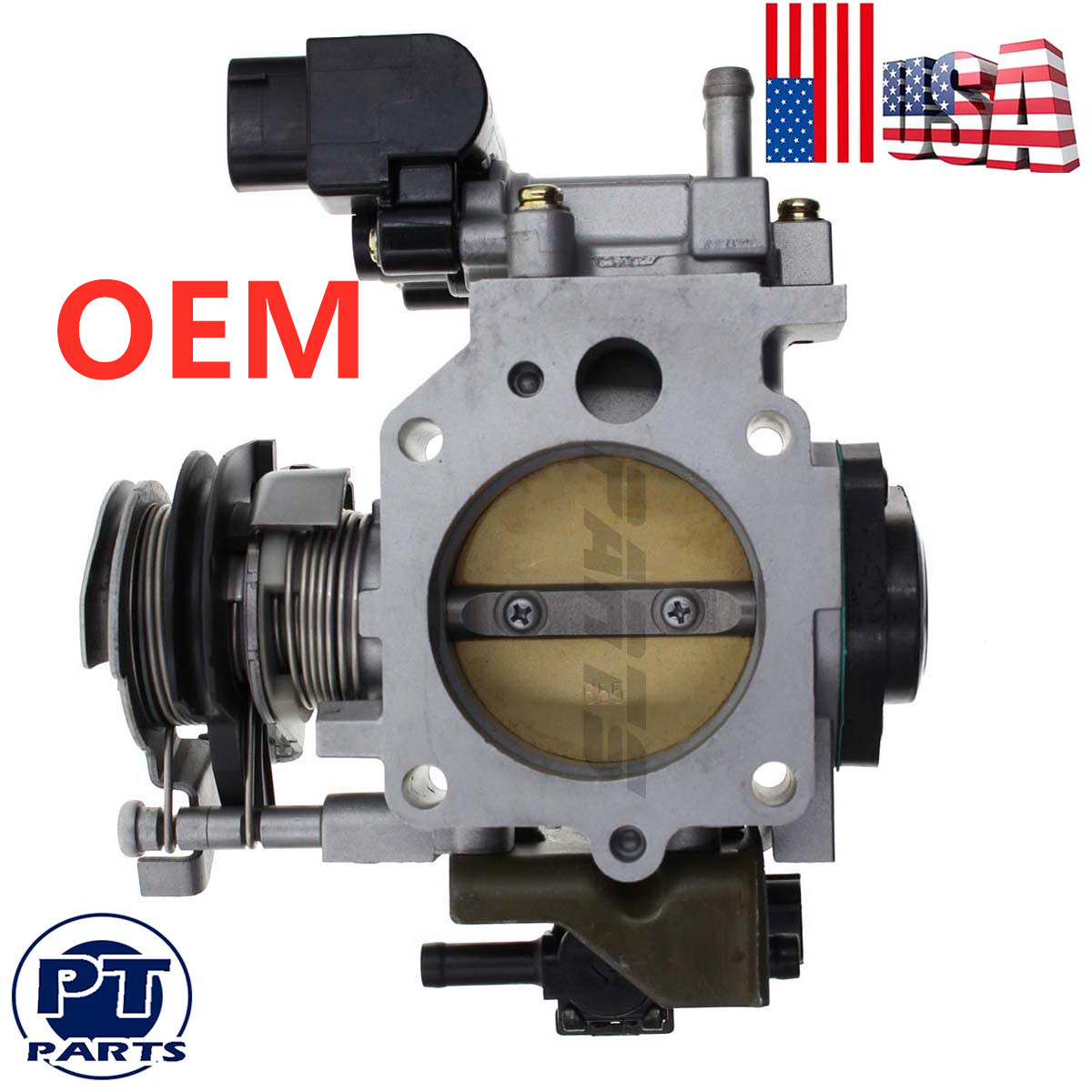 OEM Throttle Body For Honda 2001-2005 Civic  DX EX GX HX LX 16400-PLR-A54