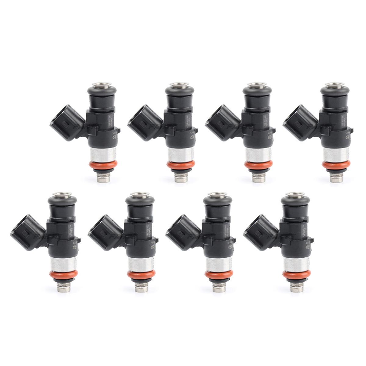 8x OEM Fuel Injector For LS3 LS7 L76 L9 L98 L99 Corvette C6 Z06 Camaro 42LB//hr