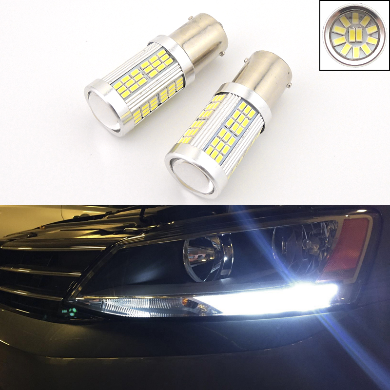 Details About 2 Error Free Hid White Led Bulbs Fit For Volkswagen Jetta Daytime Running Lights