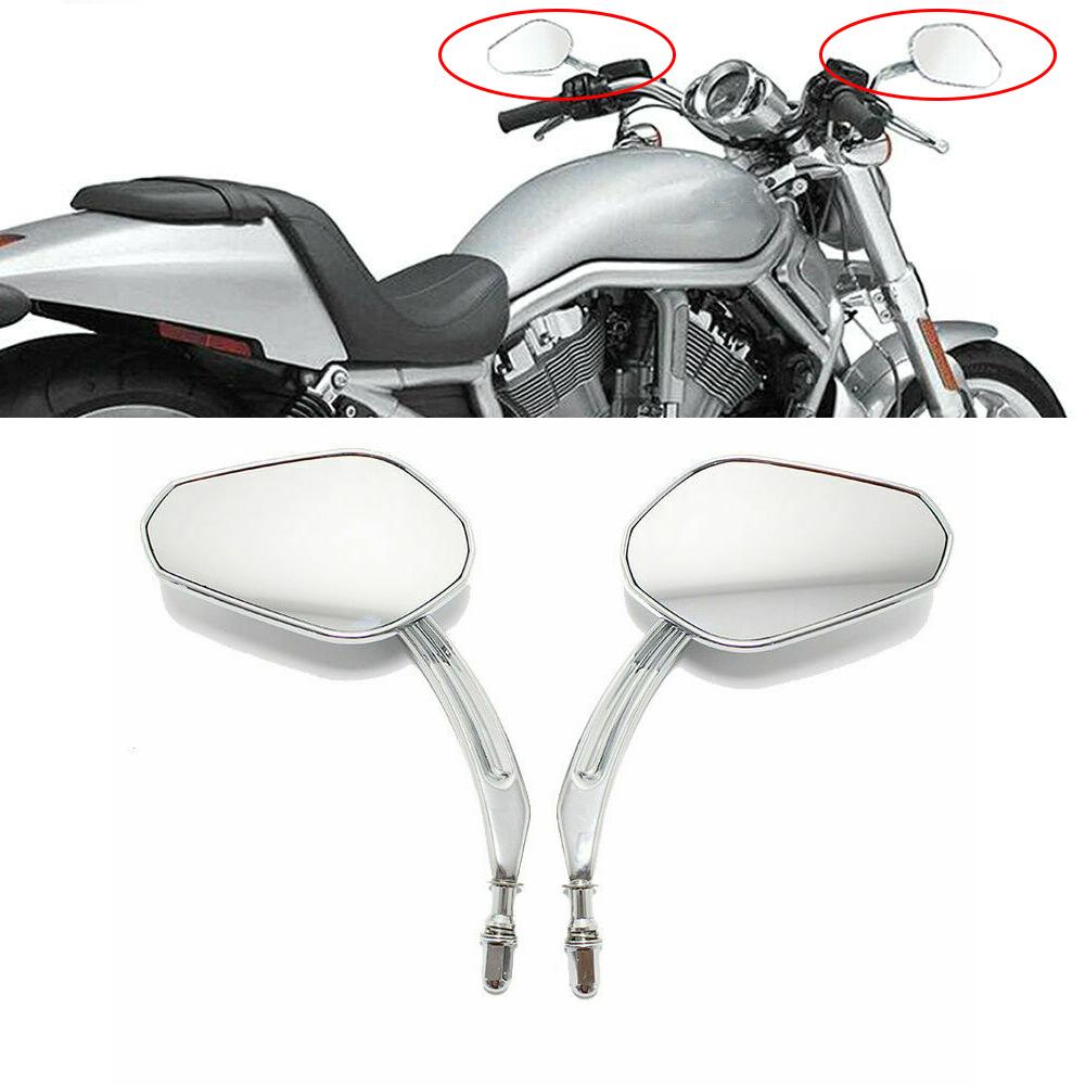 Custom Black Motorcycle Skeleton Bone Mirrors For Suzuki Savage LS 650