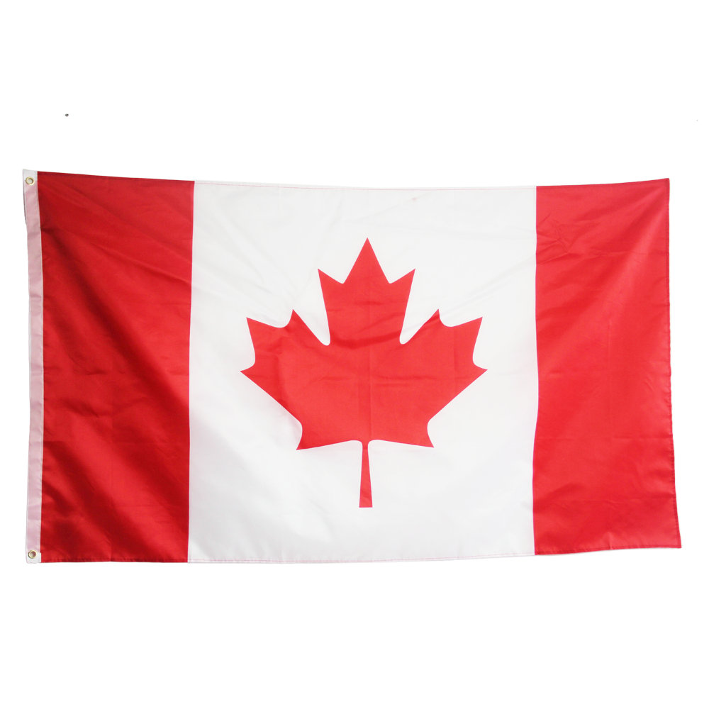 Canada Flag Indoor Outdoor Canadian Country 90x150cm Maple Leaf Banner New Large