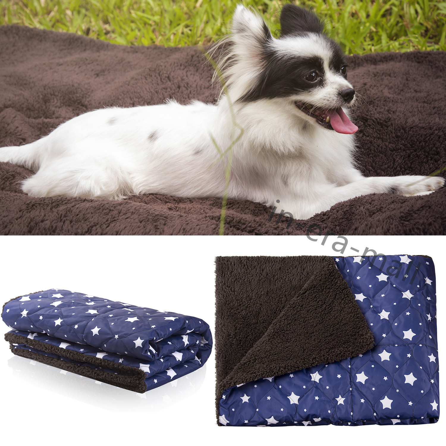 dfc319005509 Details about Pet Washable Home Blanket Large Dog Bed Cushion Mattress  Kennel Soft Crate Mat