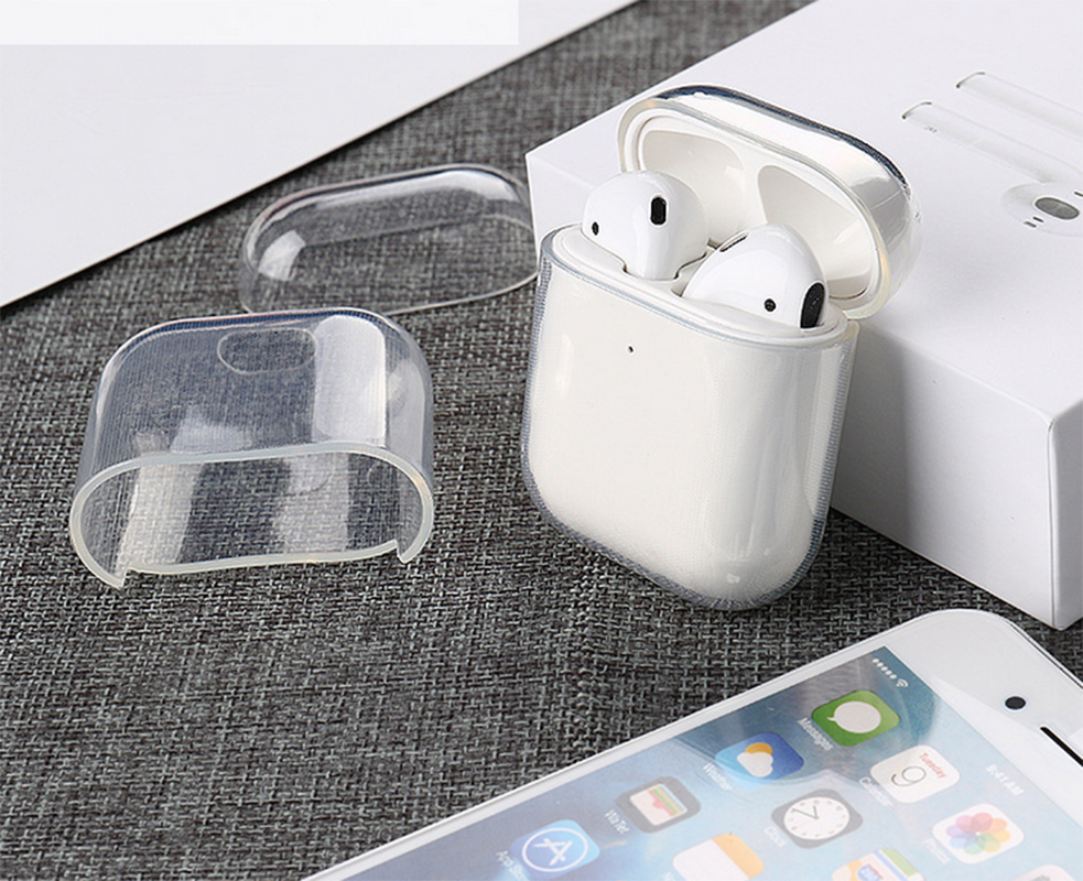 Transparent Clear For Apple Airpods 1st 2nd Generation Case