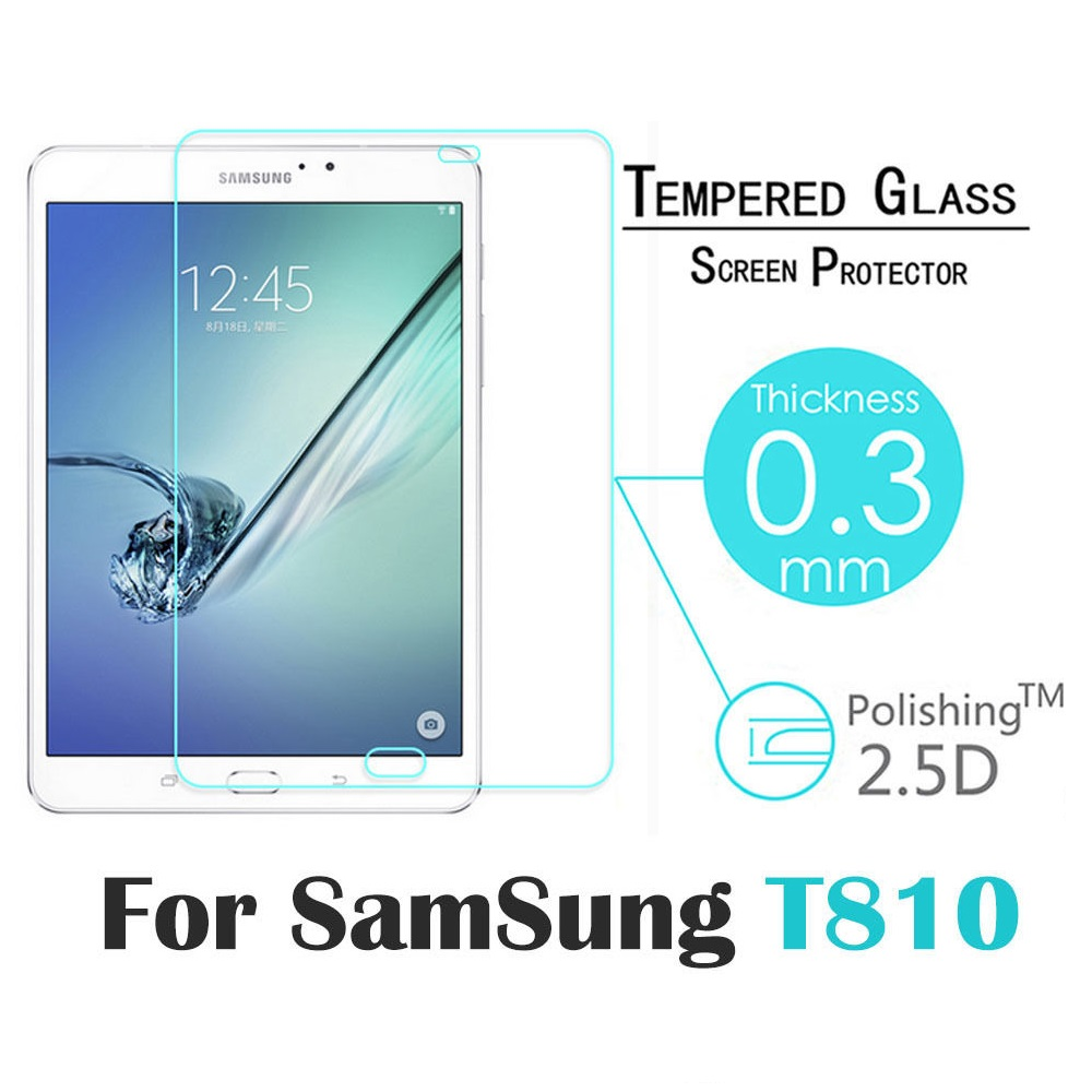 Clear Tempered Glass Screen Protector For Samsung Galaxy Tab S2 9 7 T810 .