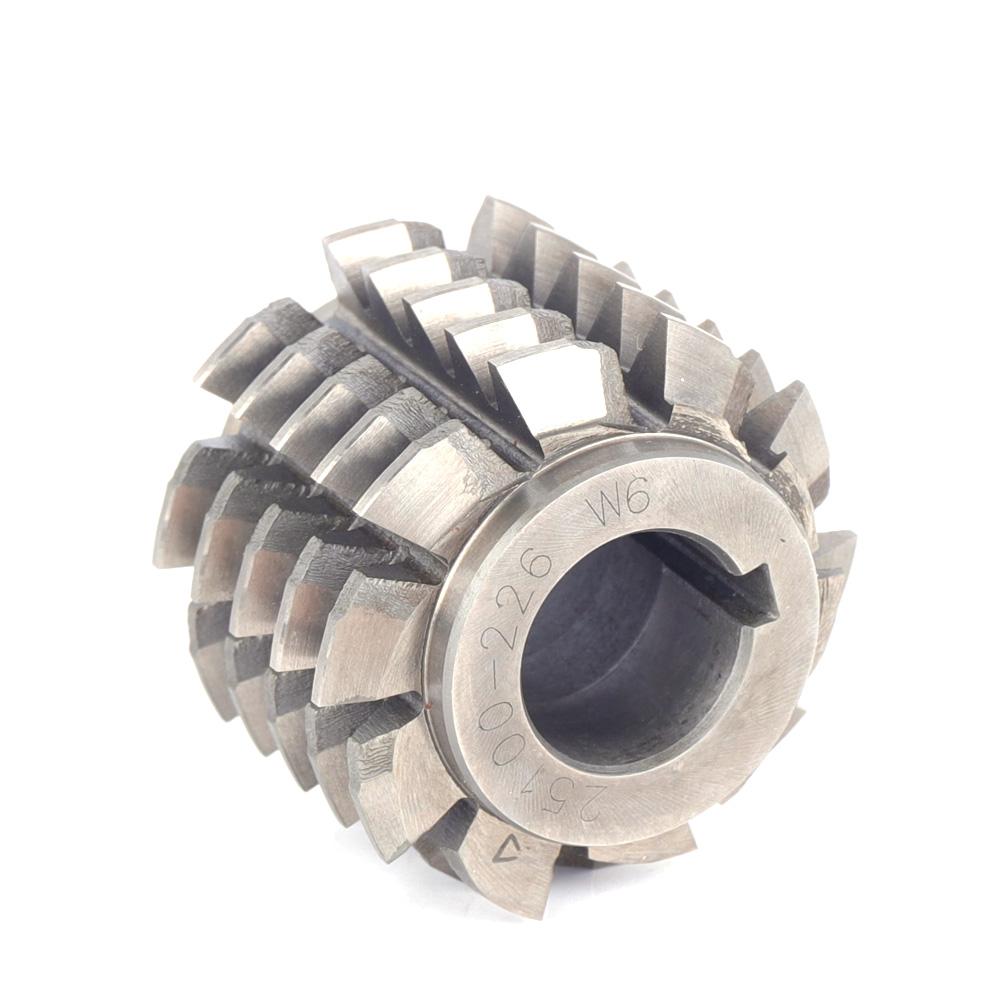 Bore 27mm Pressure Angle 14.5 degree Accuracy A M2 New Gear Hob Cutter DP 6 Hss