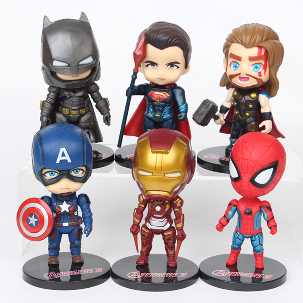 Top Three Toys Of 2012 : Avengers batman spiderman thor iron man captain america