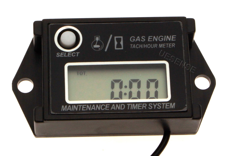 Tachometer With Hour Meter : Digital diesel engine hour meter tachometer for water pump mining