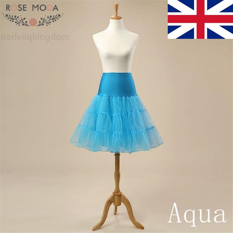 Women Retro Underskirt Petticoat Party Crinoline Slips Tutu Dress ...