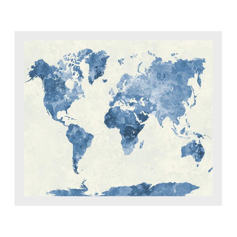 Mapa del mundo retro impresin de arte de lona pintura de pared mapa del mundo retro impresion de arte de gumiabroncs Gallery