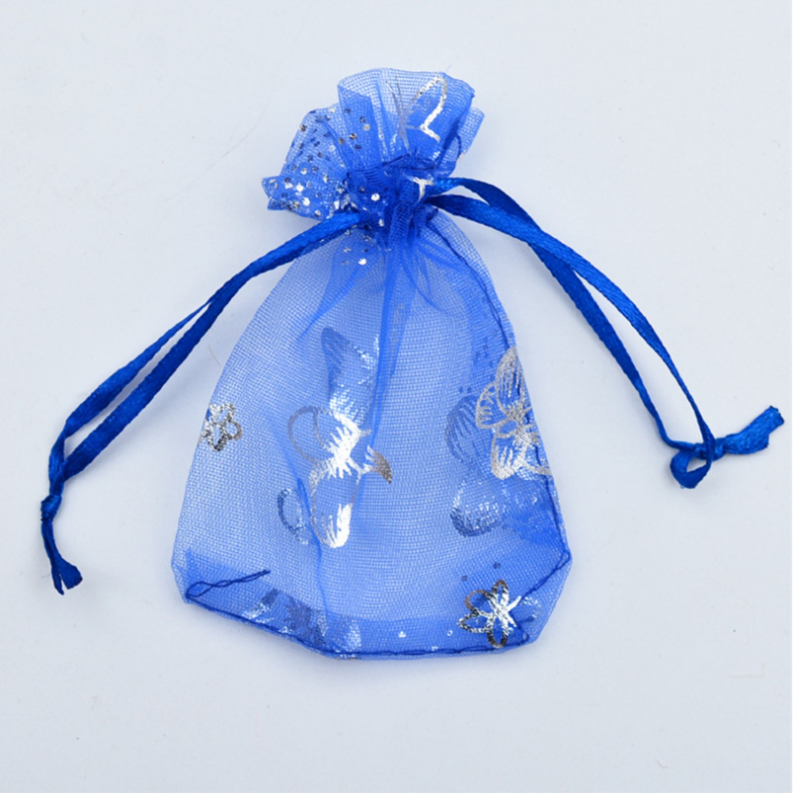 Organza Bags 100pcs Wedding Favour Bags Buff for Gifts Jewelry with Drawstring Pouches Wrap Small 7cm x 9cm
