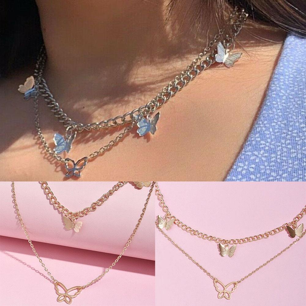 Women Fashion Boho Multilayer Necklace Pendant Long Sweater O3X2 Necklaces X1V6