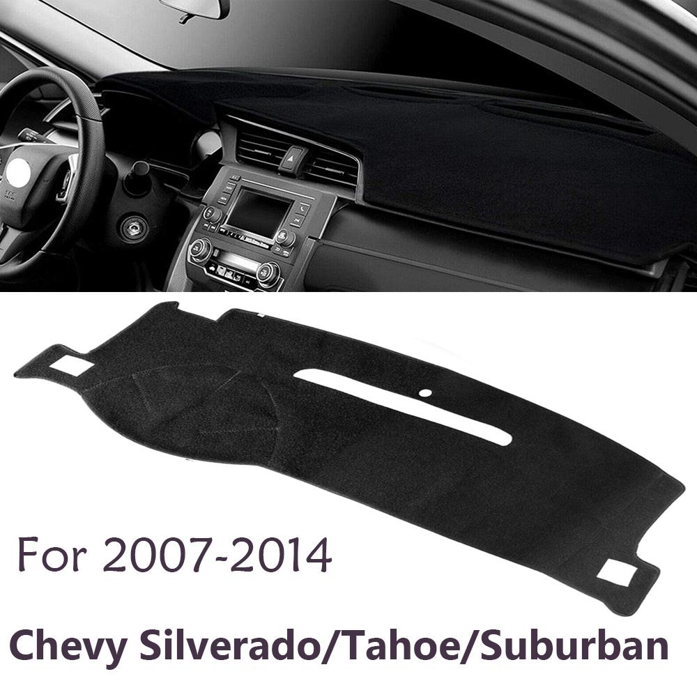 Wine Dashboard Pad Dash Cover Mat For 2007-2014 Chevy Silverado//Tahoe//Suburban