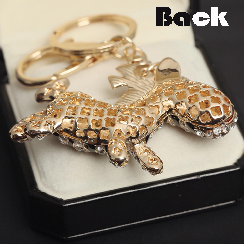 3D Zebra Rhinestone Crystal Keyring Handbag Charm Pendant Keychain Bag Key  Chain badfb76b1e