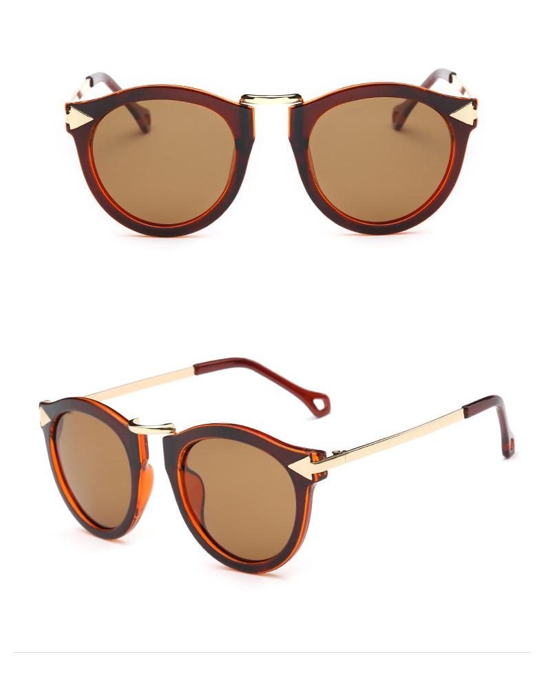 7453b123dcb Ronsou Womens Fashion Designer Polarized Sunglasses 100% UV400 Brown Coffee  Lens