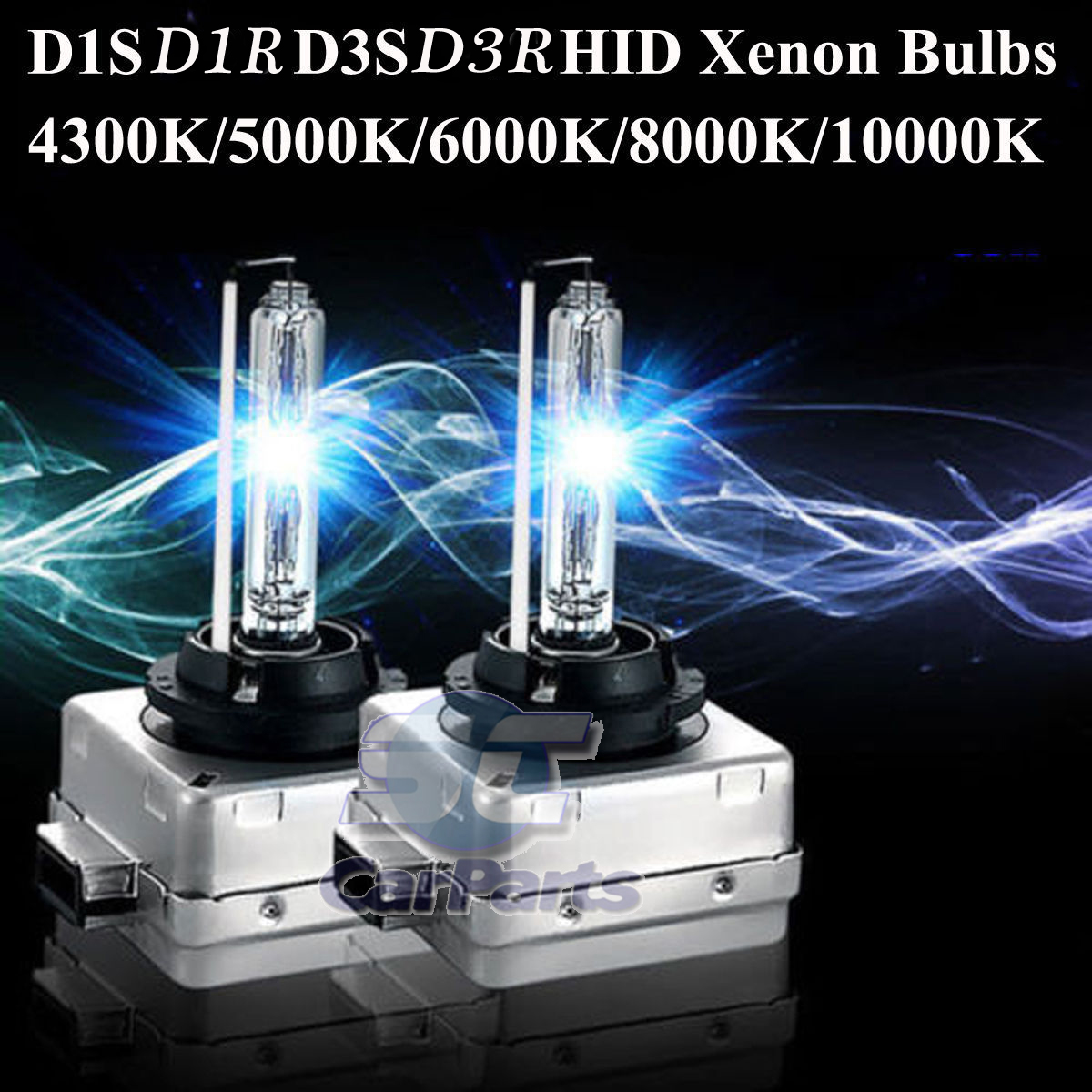 2x Brûleur Au Xénon Ampoule Principale phares HID d2r 6000k