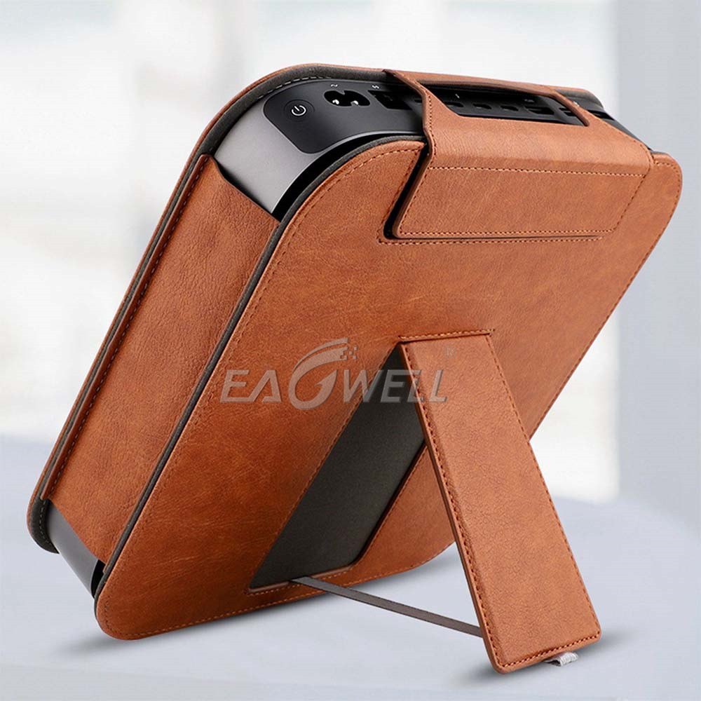 watch 981f5 f0012 Details about For 2018 Apple Mac Mini Desktop Leather Case Cover Stand  Protective Sleeve Shell