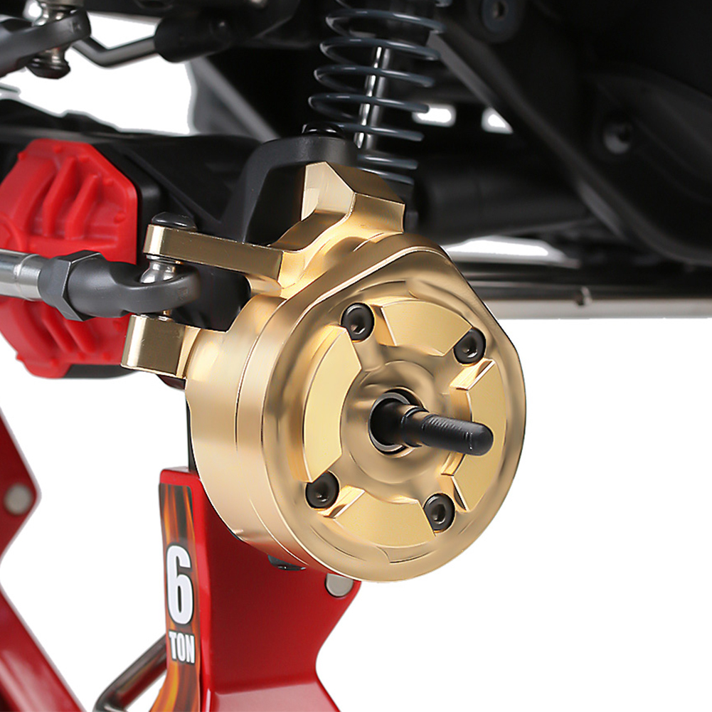 2PCS//set Brass Portal Steering Knuckle AXI232006 For 1:10RC Axial SCX10 AXI03007