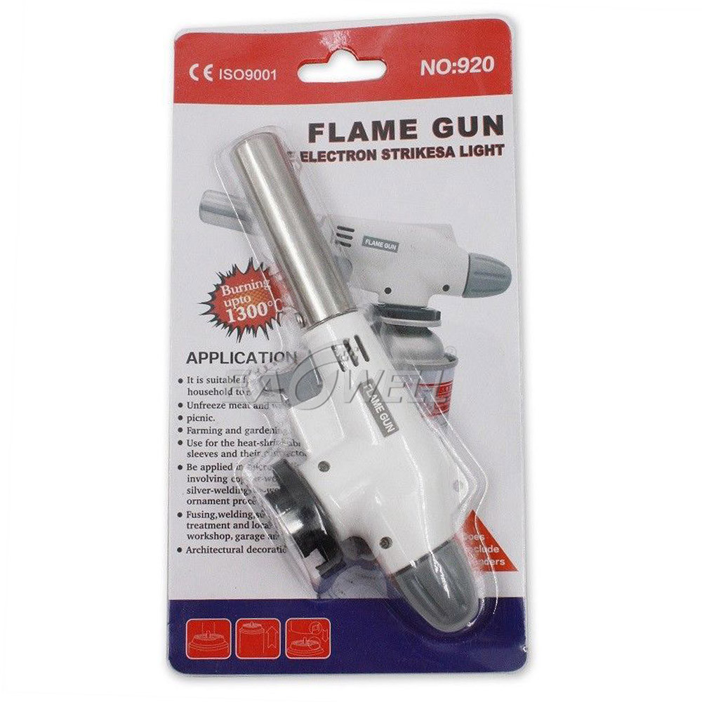 M-586C Gas Torch Auto Ignition Camping Welding Flame Thrower. Source · EWO Gas Torch GT-21 / pematik gas Gas Torch Auto Ignition . Source ·