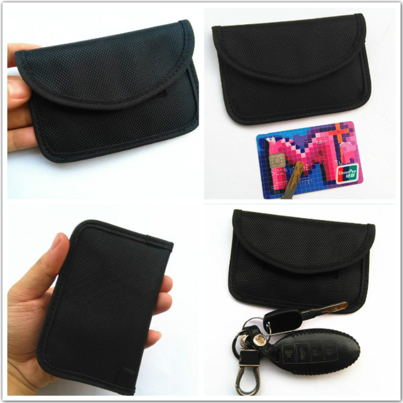 f09993e56 RFID Signal Blocking Bag RFID Signal Shielding Pouch Wallet Case for Car  Key Fob