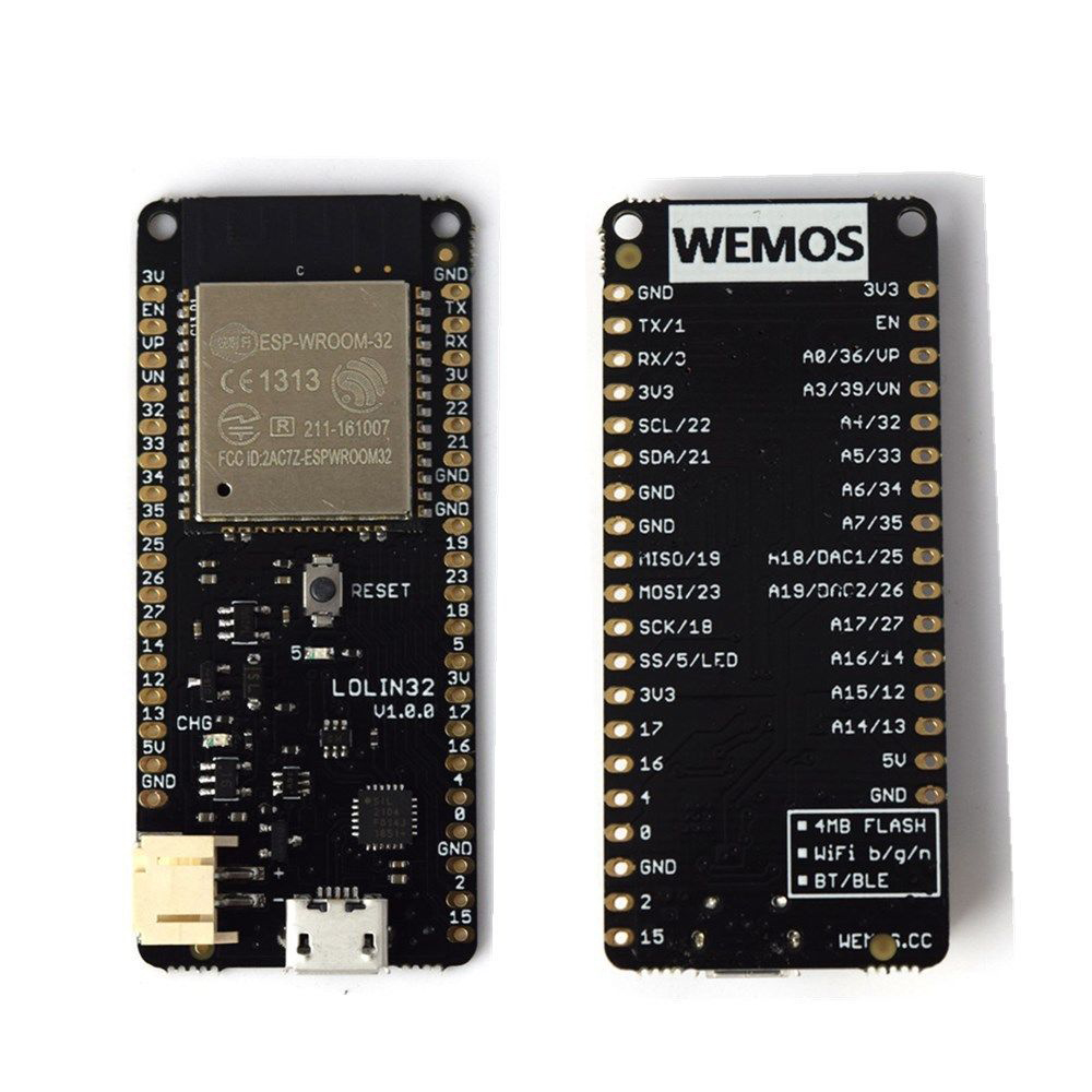 Details about 4 MB Flash WEMOS Lolin32 V1 0 0 WIFI+Bluetooth Karte Based  ESP-32 ESP-WROOM-32 U