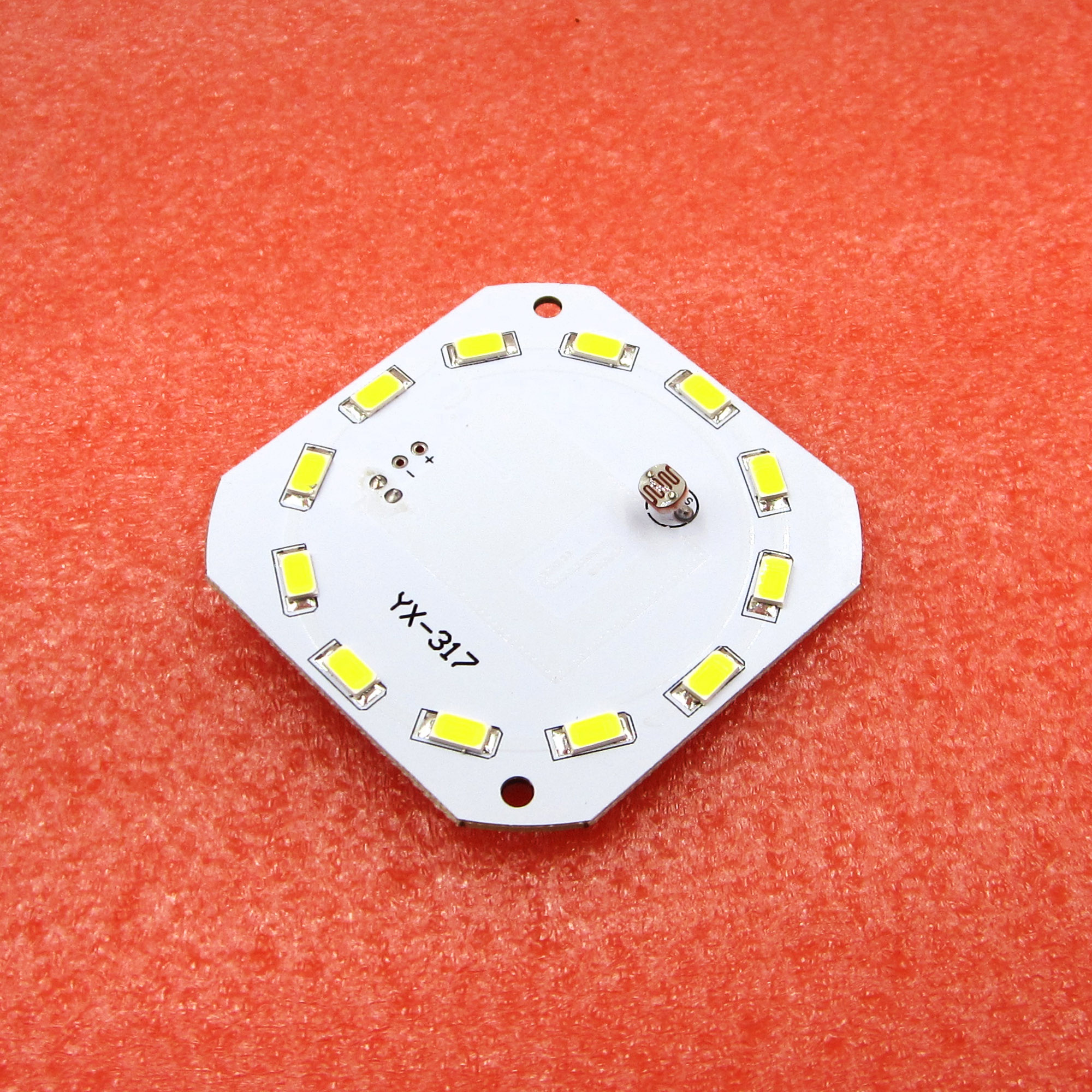 The new 7W 240mA human radar sensor LED board SMD intelligent lighting control U