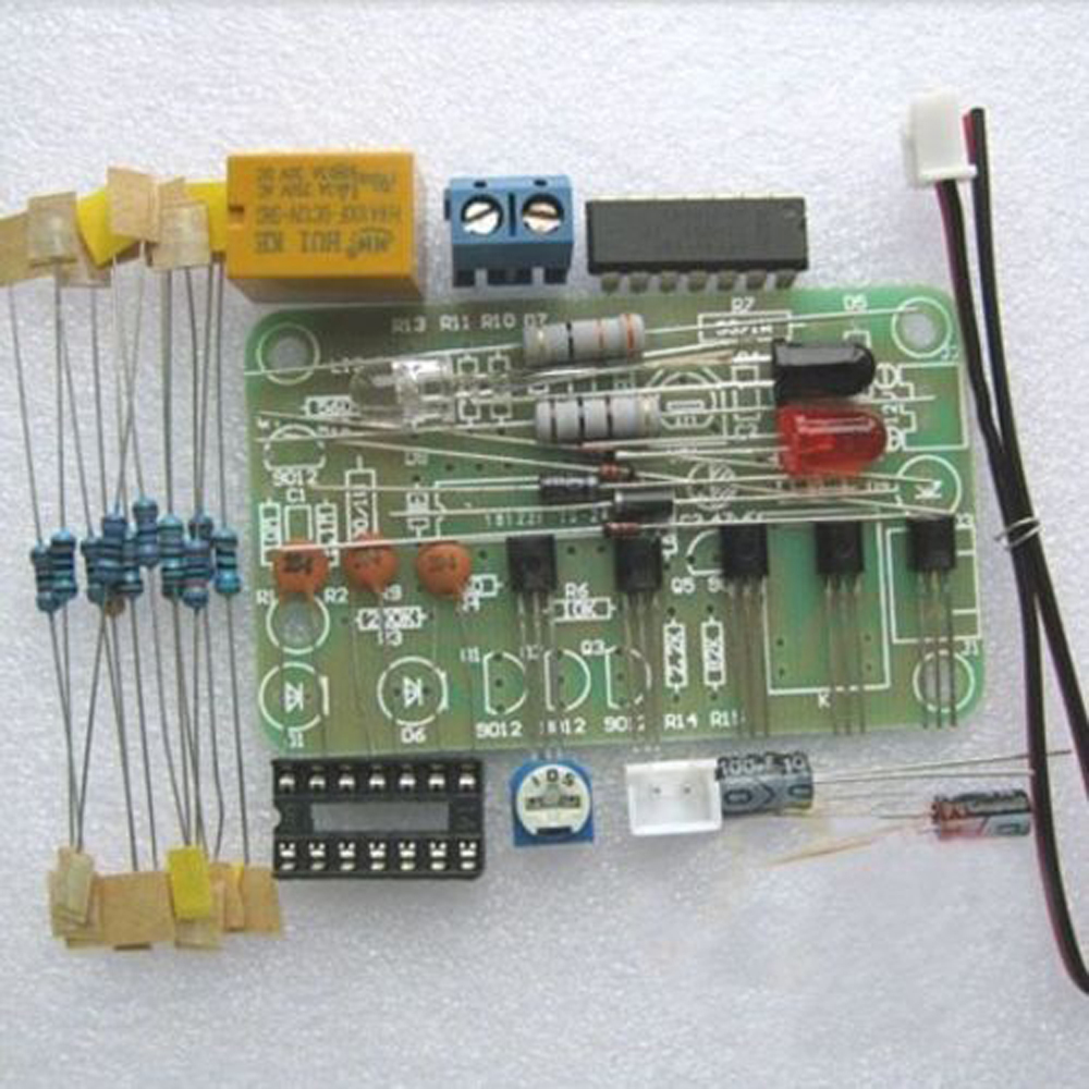Human Infrared Switch DIY Kit Infrared Sensor Electronic Production Suite ASS