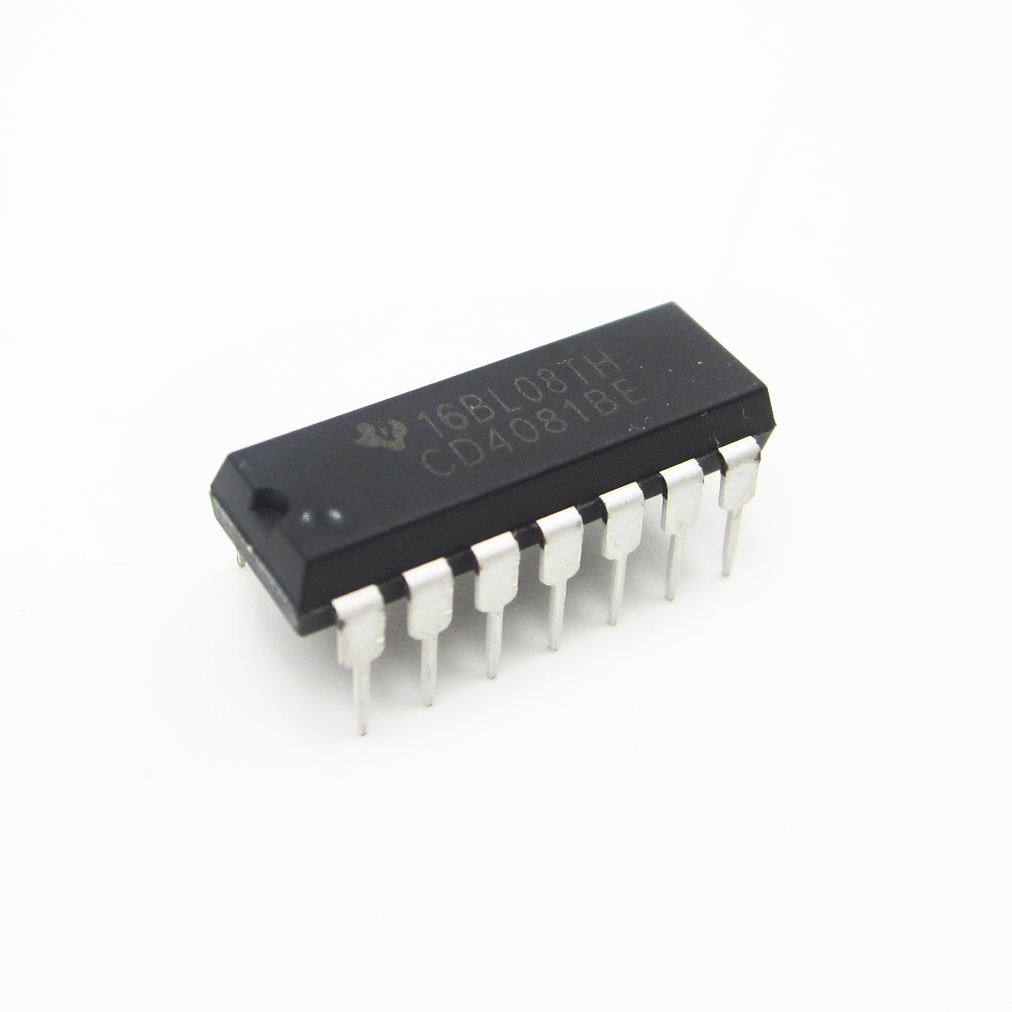 10pcs CD4081 DIP 14 CD4081BE Quad 2 Input Or And Gate Original DIP-14 TI Chip IC